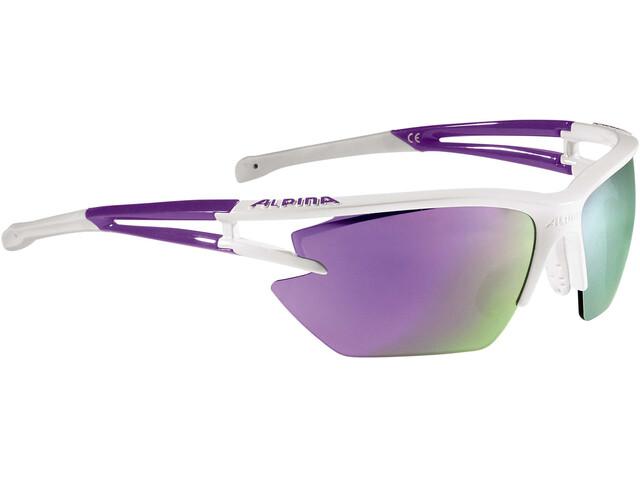 Alpina Eye-5 HR S CM+ Glasses white-purple
